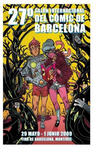 Cartel salón Barcelona