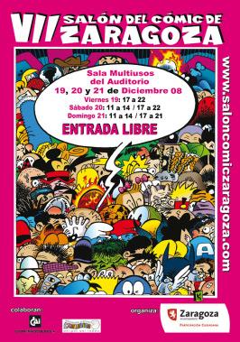cartel Salón Cómic Zaragoza