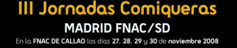 Cartel Jornadas Comiqueras FNAC