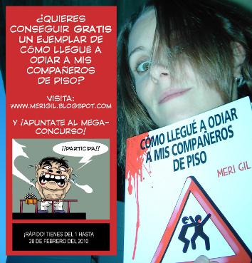 cartel concurso Meri Gil