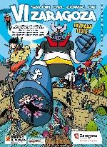 Cartel del salón del Cómic de Zaragoza