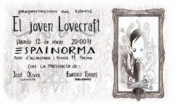 Invitación Joven Lovecraft Palma
