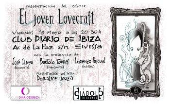 Invitación Joven Lovecraft Ibiza