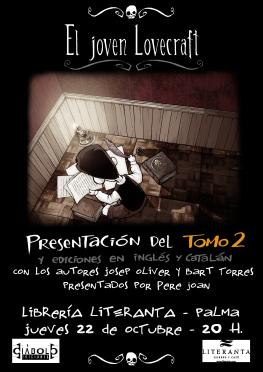 Prentación El Joven Lovecraft Palma