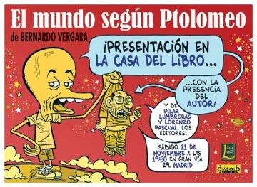 Presentación El mundo según ptolomeo en la Casa del Libro
