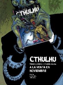 Anuncio de la salida de la revista Cthulchu