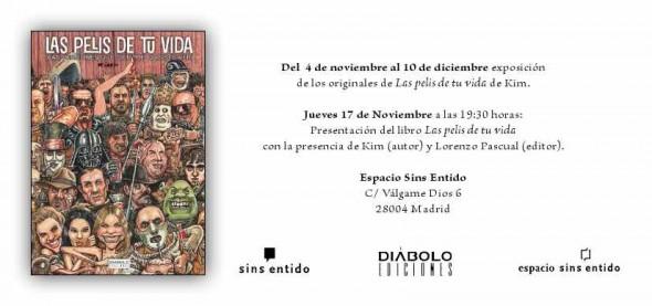 """Exposición y presentación de """"Las pelis de tu vida"""" en Madrid"""