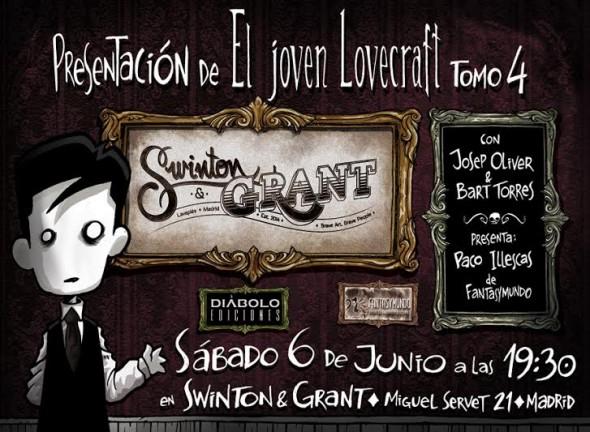 El joven Lovecraft vuelve a Madrid