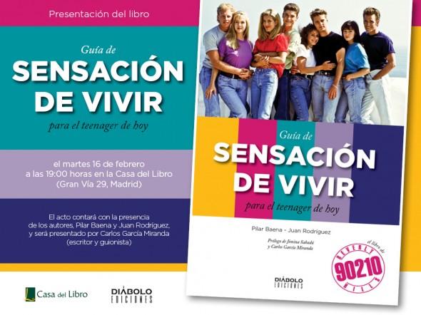La Guía de Sensación de vivir para el teenager de hoy se presenta en Madrid