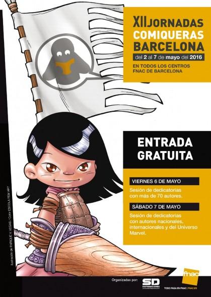 Jornadas Comiqueras Barcelona 2016