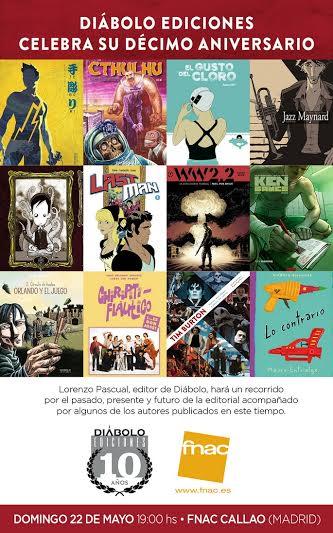 10 años de Diábolo Ediciones