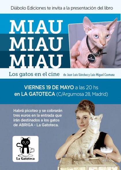 Gatos de cine en La Gatoteca